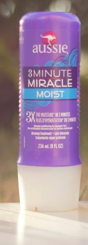 aussie máscara creme 3 minute miracle moist * frete gratis