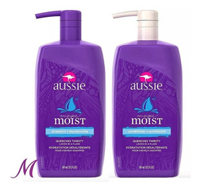 Aussie Moist Shampoo, Condicionador 865ml Original