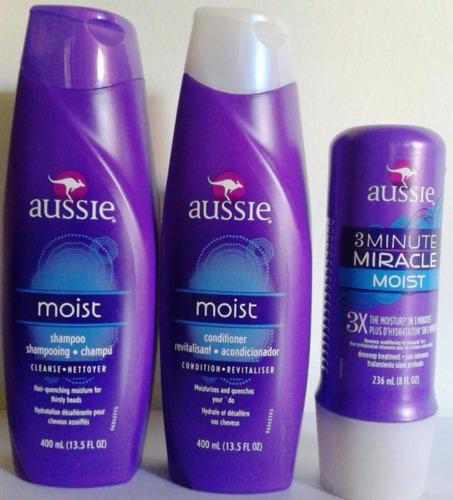 aussie shampoo condicionador