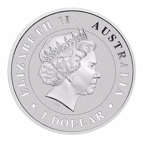 australia 1 onza plata .999 araña de embudo 2015. nueva!!