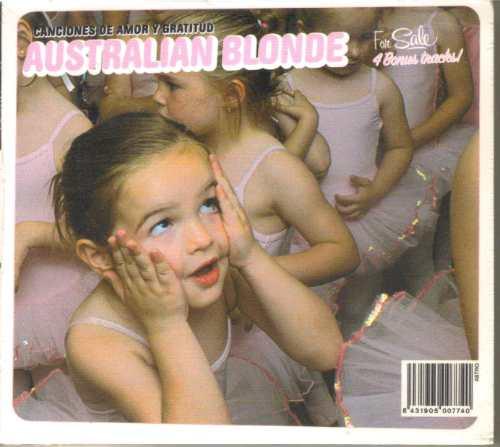australian blonde - canciones d... ( indie español ) cd rock
