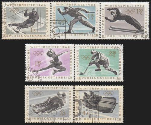 áustria - olimpíadas de inverno - 1964 - s/completa