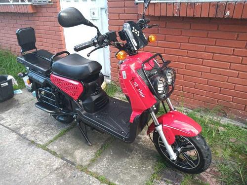 auteco eléctrica / moto eléctrica starker shipper scooter