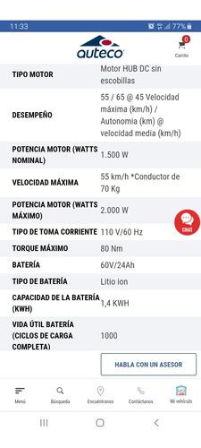 auteco electrica starker e3 2020