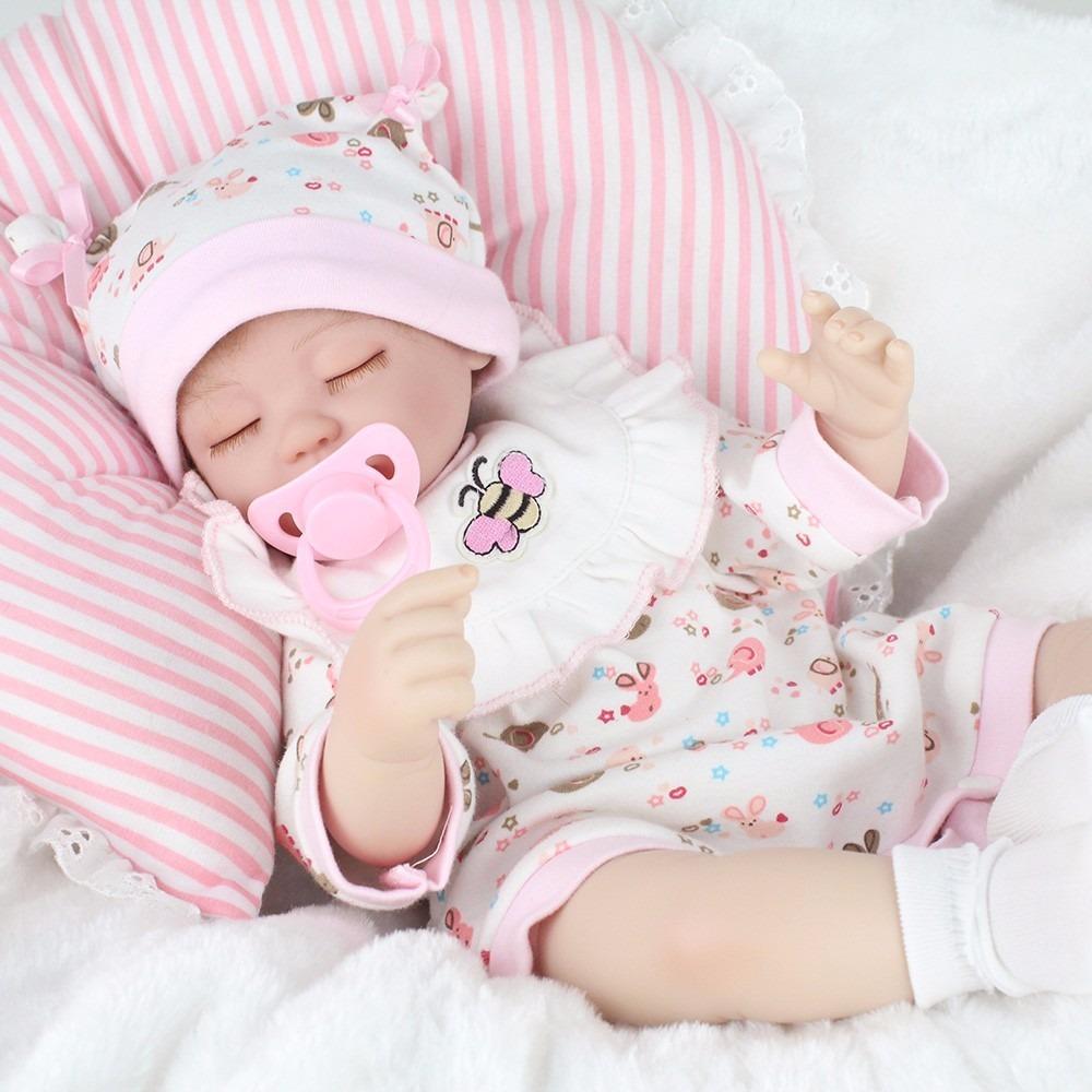 Autentica Bebe Reborn Mu 241 Eca 43 Cm Silicon Entrega