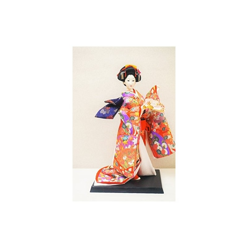 Auténtica Muñeca Geisha Japonesa, 14.5 Pulgadas, Rosa, Hecha ...