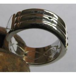 autentico anillo atlante en plata ley 925, modelo delgado