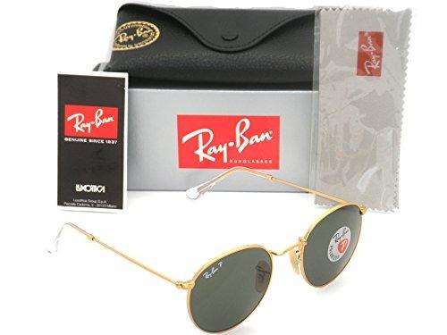 2cb3e8009 Auténtico Ray-ban Rb 3447 112/58 50mm Redondo Metal Oro - $ 299.990 ...