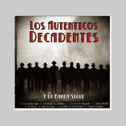 autenticos decadentes los y la banda sigue cd + dvd nuevo