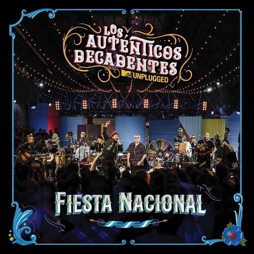 auténticos decadentes mtv unplugged fiesta nacional cd + dvd