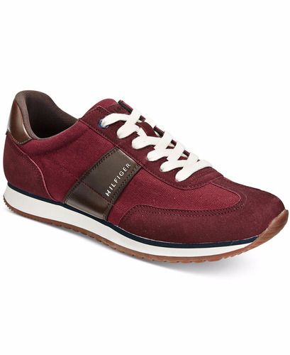 autenticos tommy hilfiger men's modesto low-top sneakers 8.5