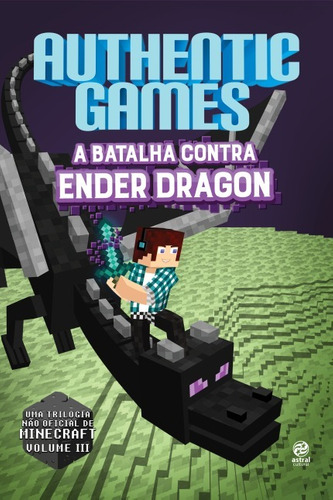 authentic games: a batalha da torre, ender dragon, herobrine