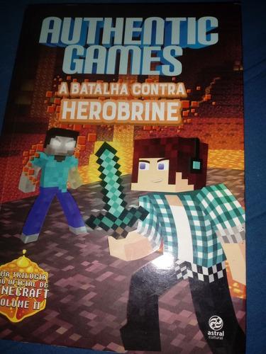 authentic games - batalha contra herobrine.