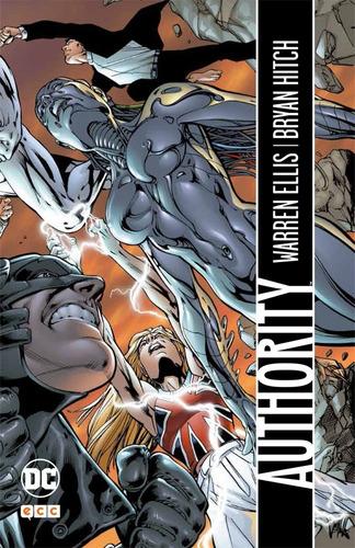 authority warren ellis - dc ecc comics - robot negro