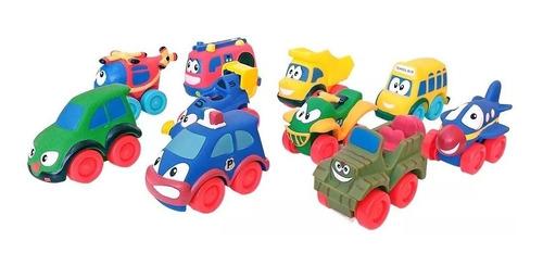 autitos de juguete para bebes set mi primer autito (+1 año)