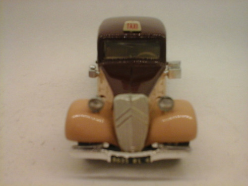 auto 1:43 citroen traction 1938 eligor milouhobbies ac166