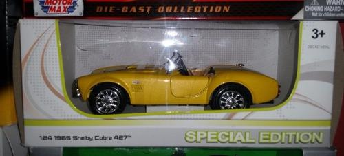 auto 1955 shelby cobra 427 sc scala 1:24