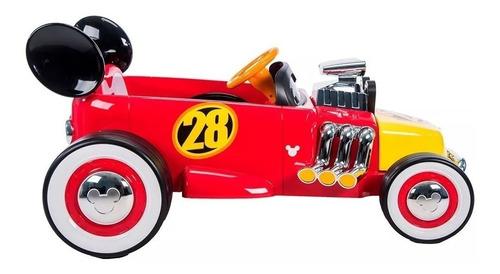 auto a batería 12 v race car mickey disney