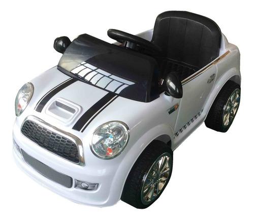 auto a bateria 12v mini cooper zaki sonidos mp3 babymovil