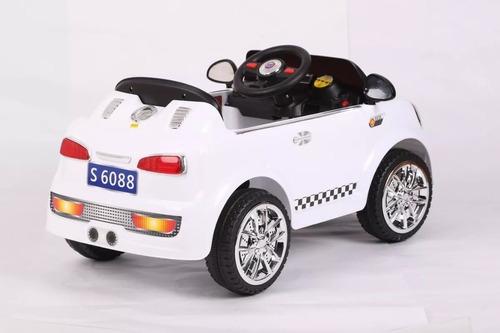 auto a bateria 12v mini cooper zaki sonidos mp3 cuotas full