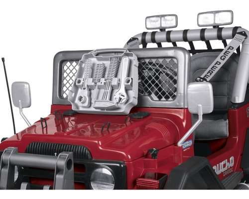 auto a bateria jeep gaucho grande 3+niños peg perego 12v
