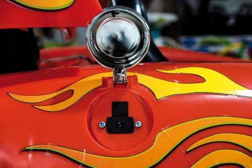 auto a batería rayo mc queen disney cars infantil