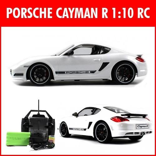 auto a control remoto porsche cayman-rc luces nuevos