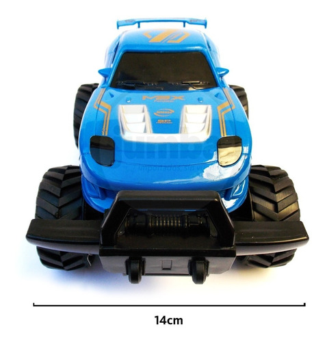 auto a control remoto super monster race cross country 1:20