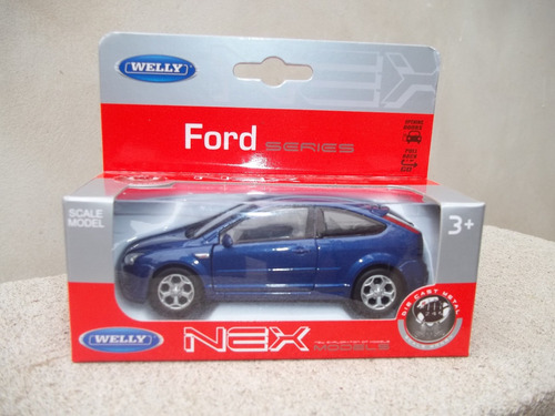 auto a escala ford focus st 1/36 welly