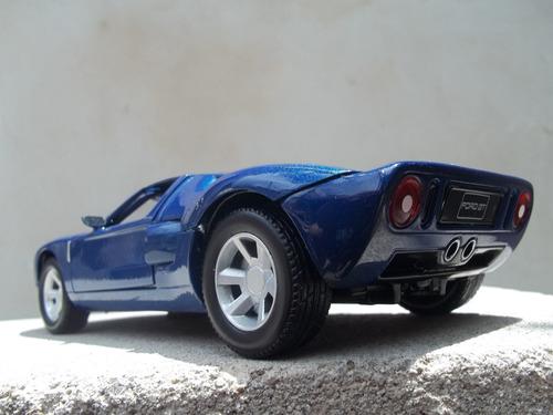 auto a escala ford gt concept 2006 1/24 motormax