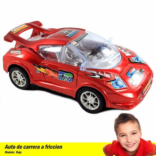 auto a friccion carreras jueguete niño 23cm capital
