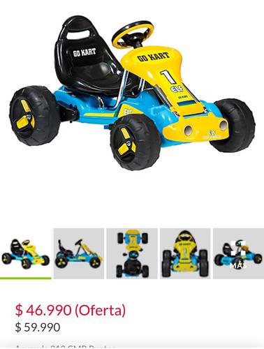 auto a pedales go kart