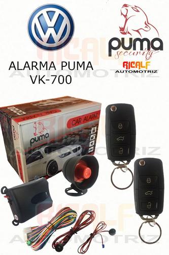 auto alarma automotriz universal puma tipo original vw vk700