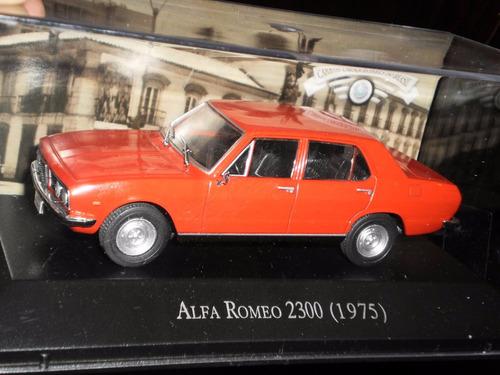 auto alfa romeo 2300 1975 escala 1:43 colección clásicos