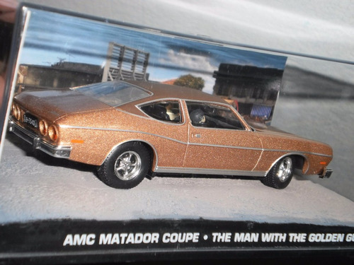 auto amc matador coupé james bond 007 escala 1:43 colección