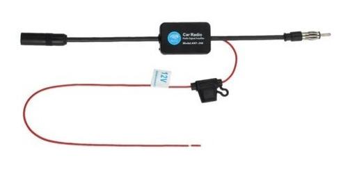 auto amplificador de señal de radio de la antena de fm del