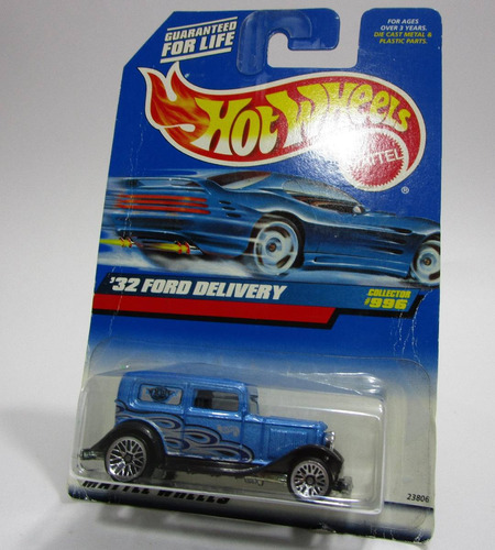 auto antiguo ford escala 1/64 coleccion hot wheels 7cm largo