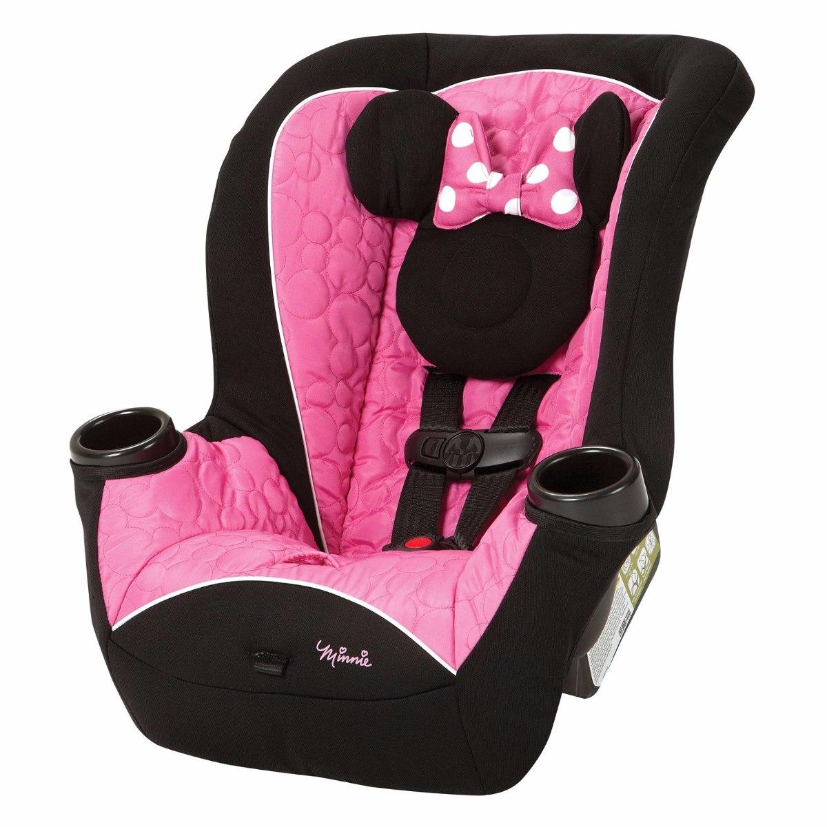 Auto asiento portabebe booster bebe disney minnie car seat for Asiento de bebe para auto