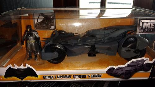 auto batman batimobil de todas las epocas original dc metal