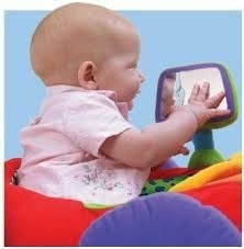 Auto bebe entretenedor ks kids con luz musica espejo y mas for Espejo retrovisor bebe con luz