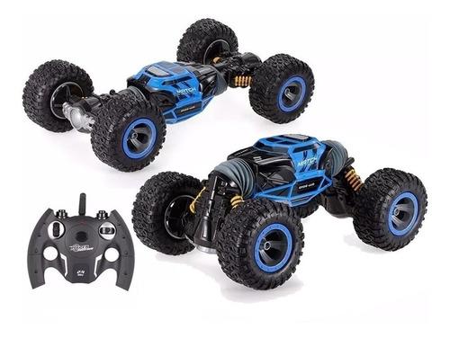 auto camioneta 4x4 radio control remoto rock rover acrobacia