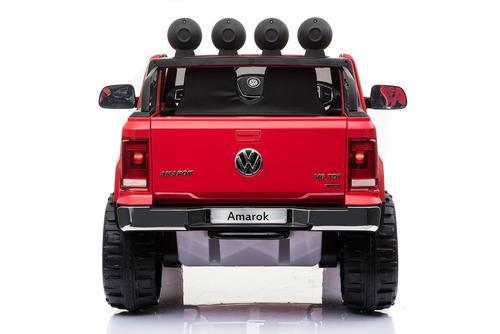 auto camioneta a bateria amarok 12v remoto 3031 casa andrea!
