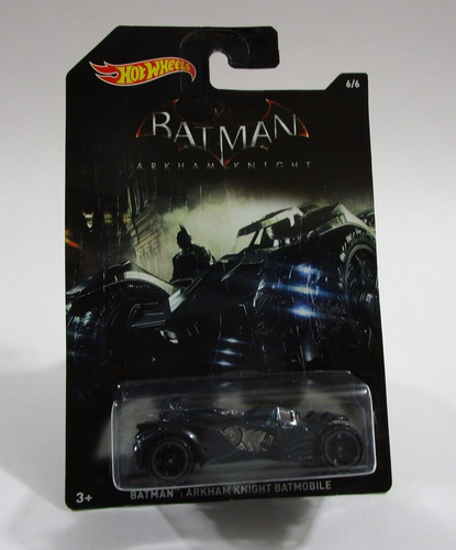 auto carro batman batimovil escala 7cm largo hot wheels 1/64