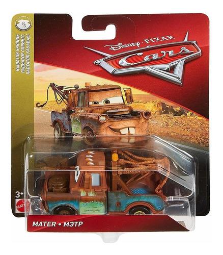 auto cars mater mattel original disney metalico mate ffj53
