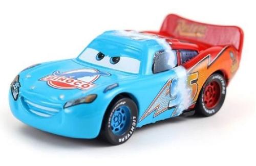 auto cars pixar metalico / modelo rayo mcqueen rojo / dinoco