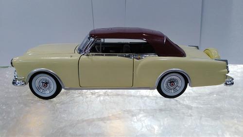 auto clasico escala 1 /24 packard oldsmobile 1953 18cms