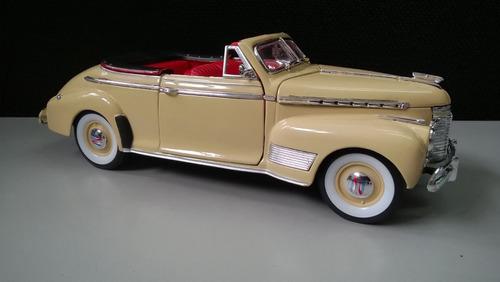 auto clasico para coleccionar chevroleth 1941 escala 1:24