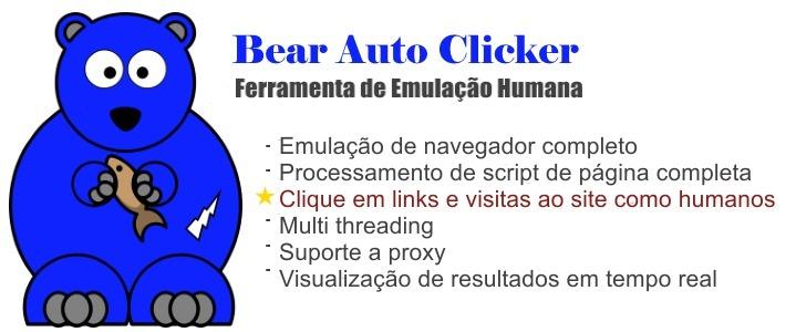 Auto Clicker - Ferramenta De Auto Cliques Emulação Humana