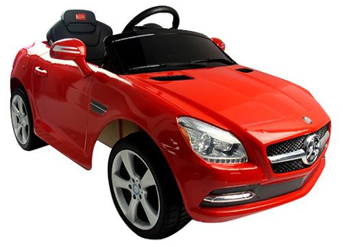 auto coche a bateria niños mercedes benz slk 6volts b81200