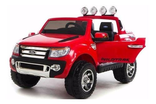 auto coche bateria ford ranger 12v lic oficial doble asiento